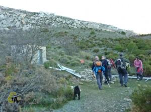 excursion en la Serrella