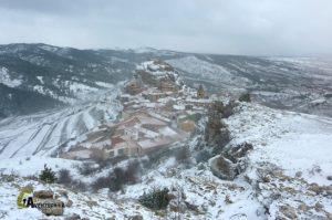 Ruta invernal de senderismo