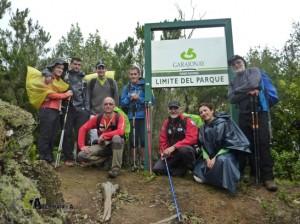 Senderismo en el Parque Nacional de Garajonay