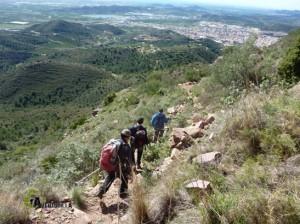 senderismo en Vall d'Uixó