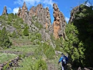 excursión en Manzanera