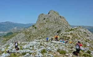 senderismo en sierra de Bernia