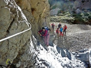 Barranco de los estrechos del río Lucena