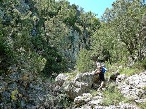 barrancos de la sierra de Gudar
