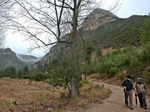 senderismo en los Serranos