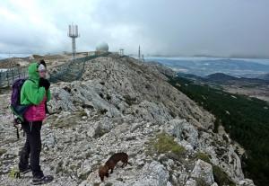 Ascensión al pico Aitana