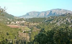 Vistas del monasterio de Lluc