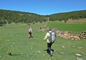 excursión en la sierra de Gudar