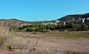 Ribesalbes desde el embalse de Sitjar