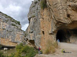 Túnel en la foz de Lumbier