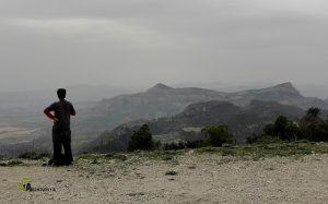 Sierra del Cid desde el Alto de las Antenas