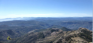 Vistas desde la cima del Peñagolosa