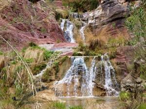 cascadas en la Rambla del Catalán