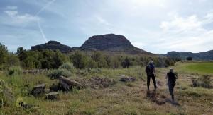 senderismo en la sierra del Mugrón