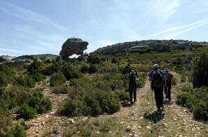 rocas en el Rincón de San Pascual