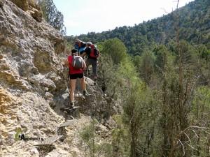 Pasos equipados en el río Ebrón