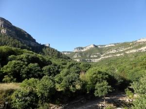 senderismo en el valle de Ayora