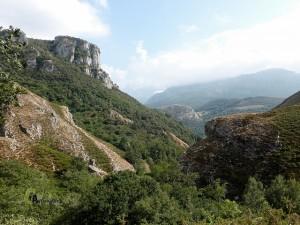 Vistas hacia Picos de Europa