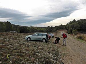 Inicio de la ruta en Formiche Alto