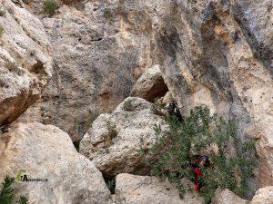 rocas en La Rambla Argongeña