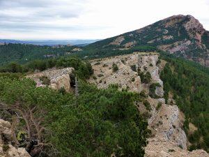Vistas de los Cinglos de Marcén y Penyagolosa