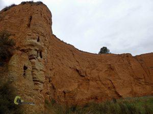 erosion en la Rambla de los Morenos