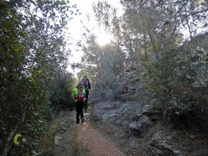 senderos en la sierra de Espadan