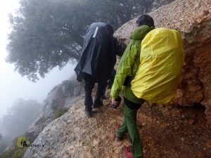 sendero señalizado de la sierra de Montsant