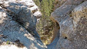 Cascada en el barranco de las Valluertas