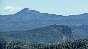 Vistas de Penyagolosa y Morrón de Campos