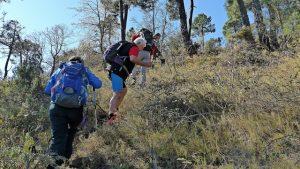 ascensión al Monte Pina