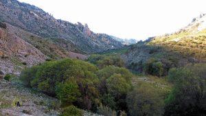 Vistas del valle del río Castril