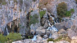 Vistas hacia el nacimiento del río Castril