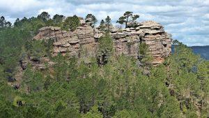 formaciones rocosas en Cuenca