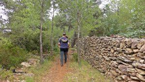 Muro de piedra en seco