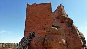Torre superior del castillo de Peracense