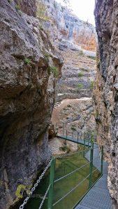 En el Cañón de los Arcos
