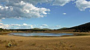 Vistas de la laguna de Bezas
