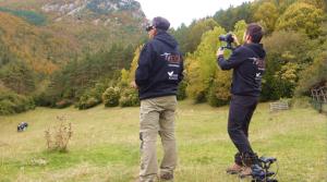 El documental utiliza recursos de imágenes con dron