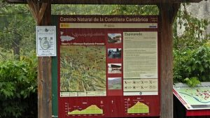 Panel del Camino Natural